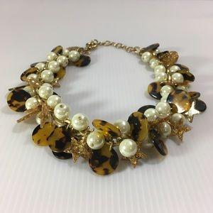 J.crew cluster necklace